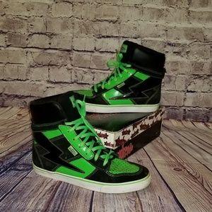 Shoes - NEON PUNKROSE SNEAKERS